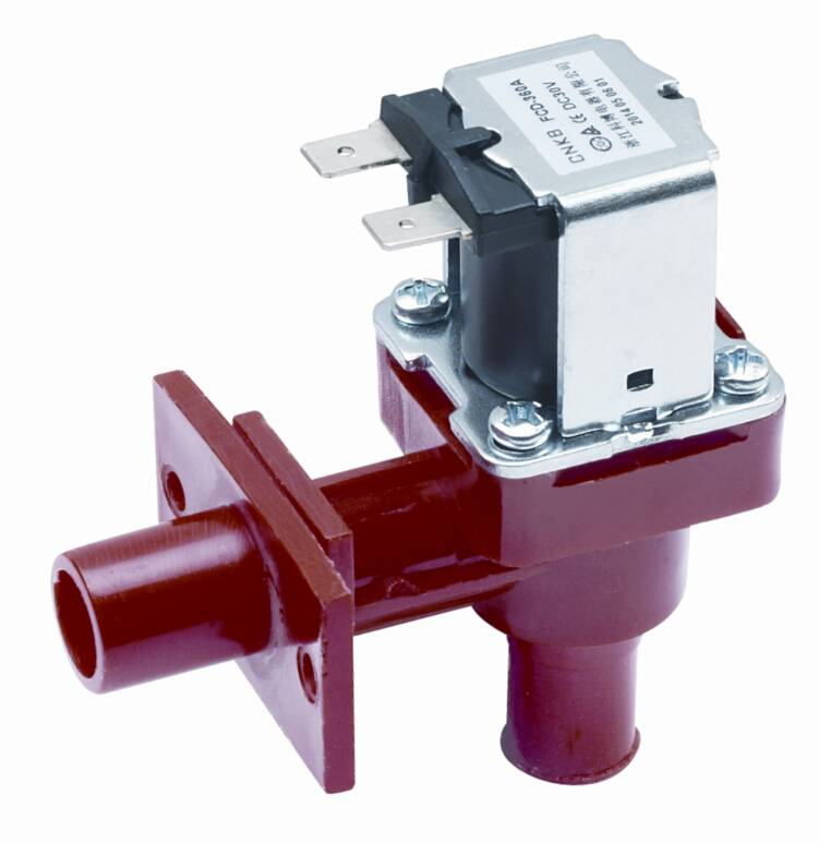 Outlet water solenoid valve for water dispenser