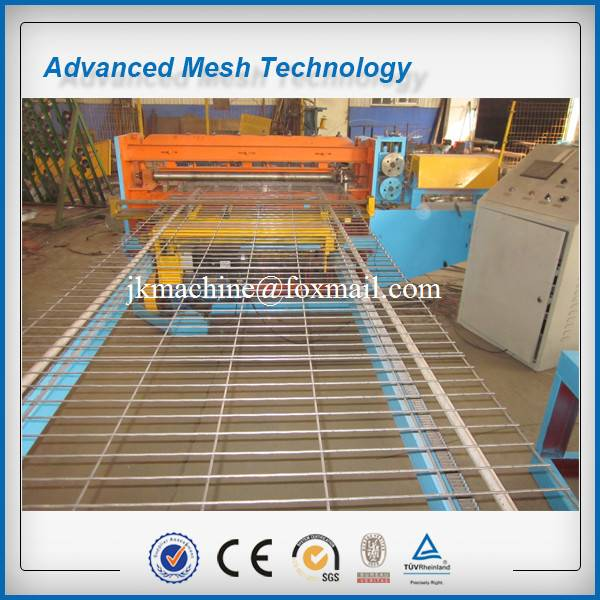 Full Automatic Steel Wire Mesh Welding Machines for 2-3.5mm Construction Mesh