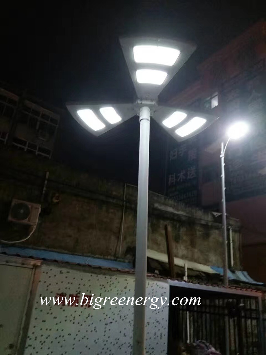 New solar garden light solar street light