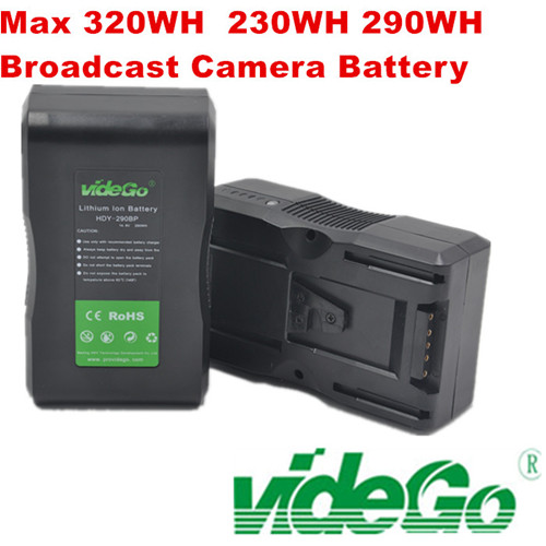 Vidego camera battery 98wh/130wh/160wh/190wh/230wh/290wh/320wh lithium battery