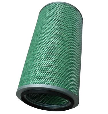 Industrial filtration cartridge air filter
