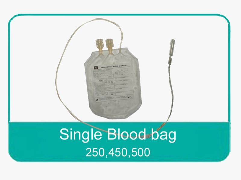 Single blood bag 450ml