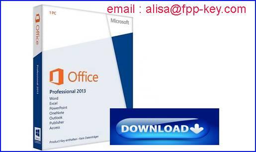 Office 2010/2013 key ,Ms office oem key