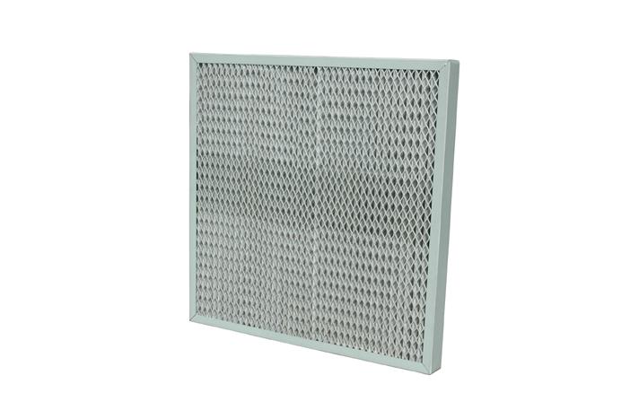 Glass fiber HEPA panel filter