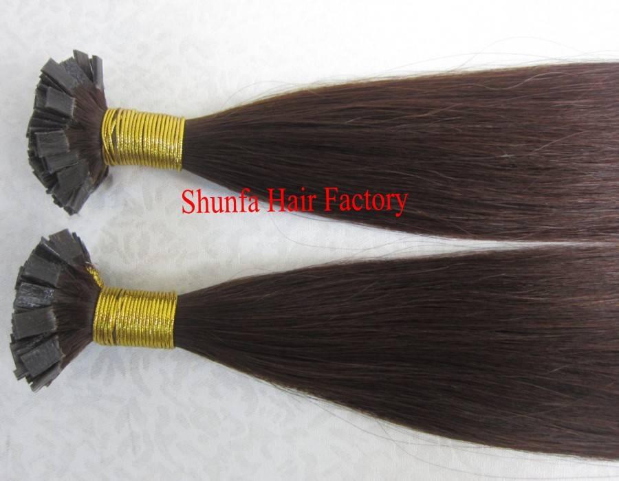 Wholesale 2012 New virgin Brazilian hair u tip prebonded hair extension