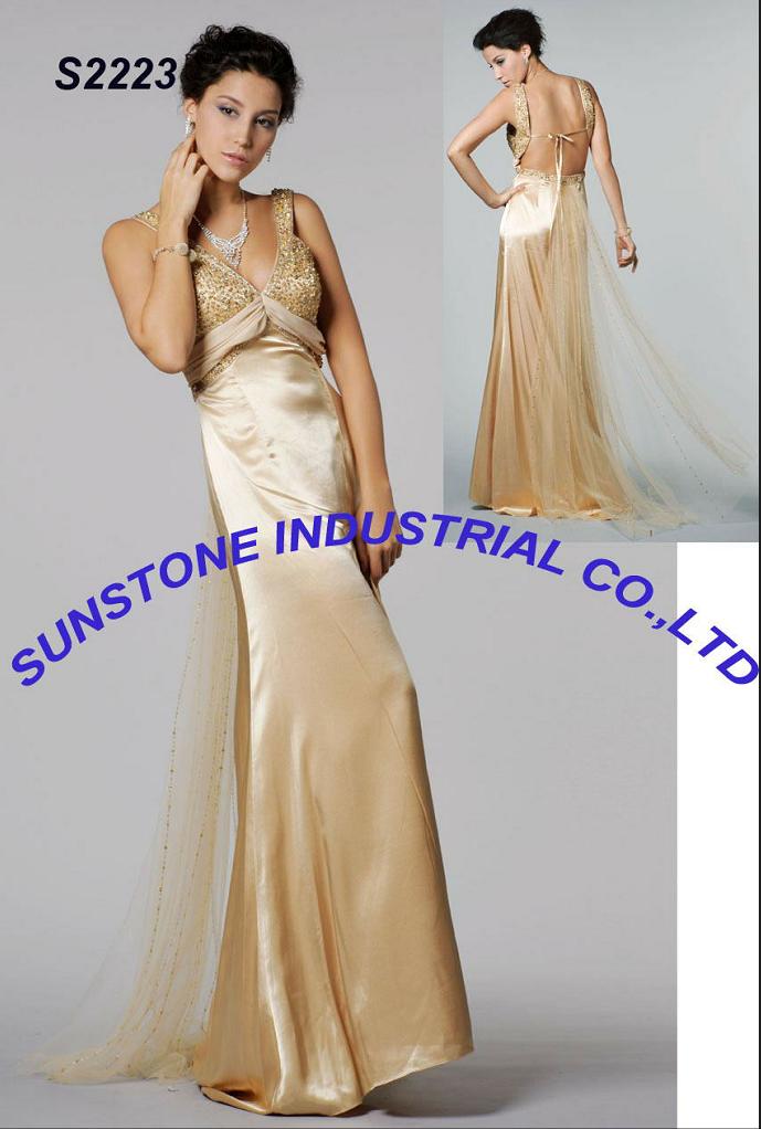 Evening dress S-2223