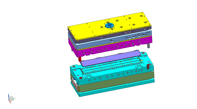 Custom Compression Mould Mold SMC BMC