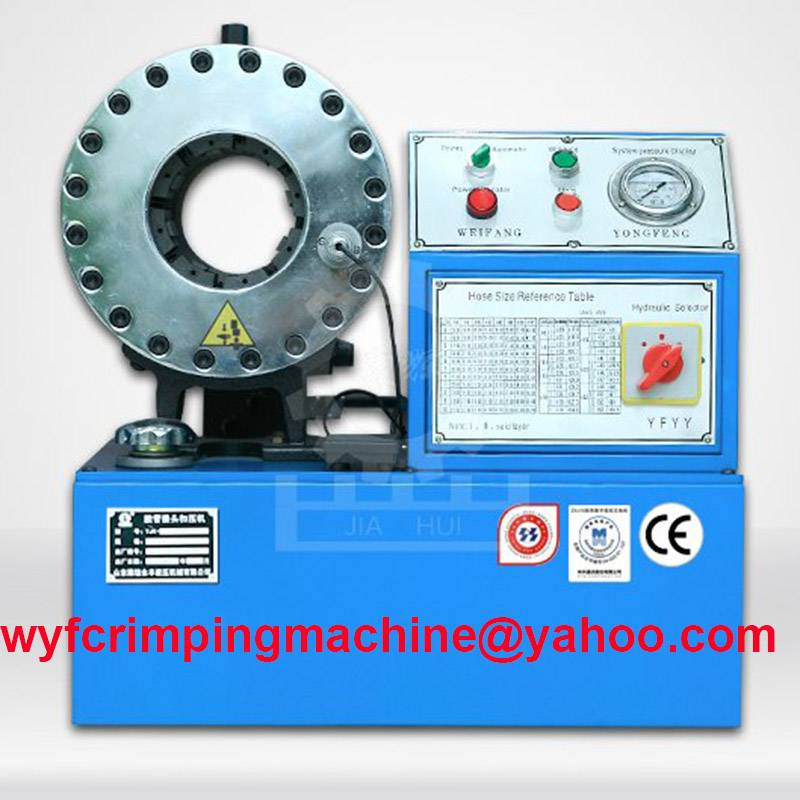 YJK-120 Hydraulic Hose Swaging Machine