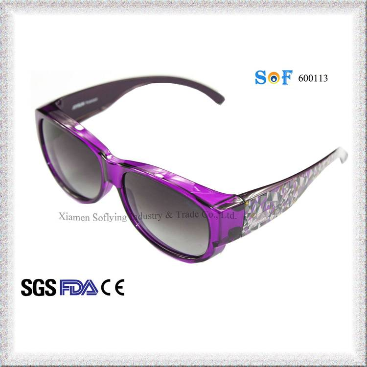 Cheap Women Sports Fit Over Sunglasses with Polarized Lens