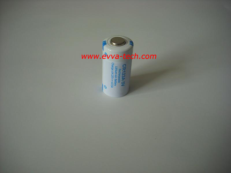Rechargeable Li ion 3.0V CR123