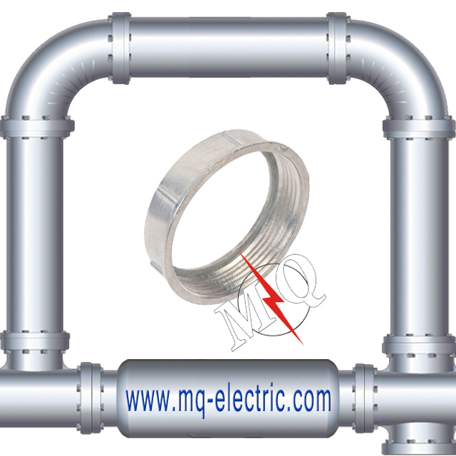 Zinc Die Cast Rigid Electrical Conduit Bushing/Pipe Fastener/Pipe Fitting