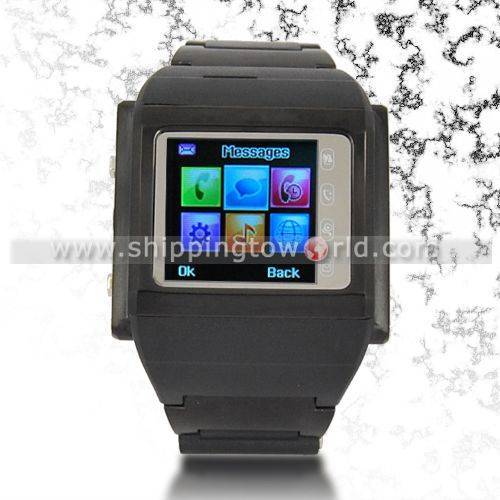 """MINI Watch Phone 1.3"""" Touch Screen MP3/MP4/Bluetooth/Camera"""