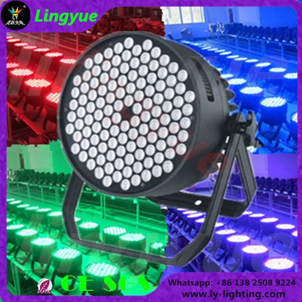 120x3w RGBW dmx stage led par