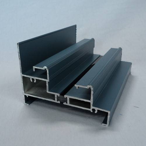 Anodized Aluminum Profile, Widely Used in Buildings and Decorating Areas