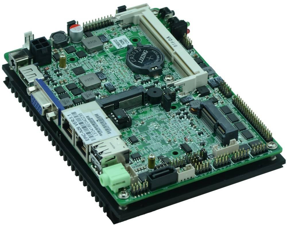 3.5'' Industrial Motherboard with Atom N2600 (EPIC-N26 VER:1.2)