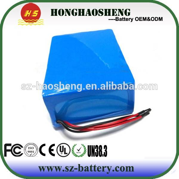 Long Cycle Time 18650 Rechargeable Battery 36V 10AH Battery