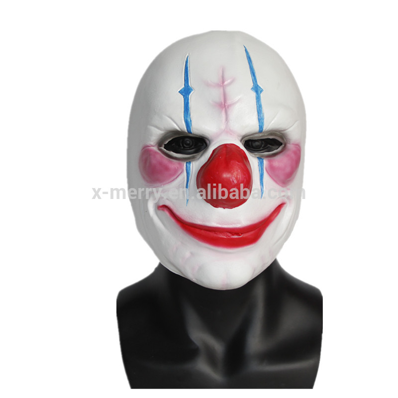 X-MERRY TOY Halloween Humorous Clown Costume Party Latex Mask x12050