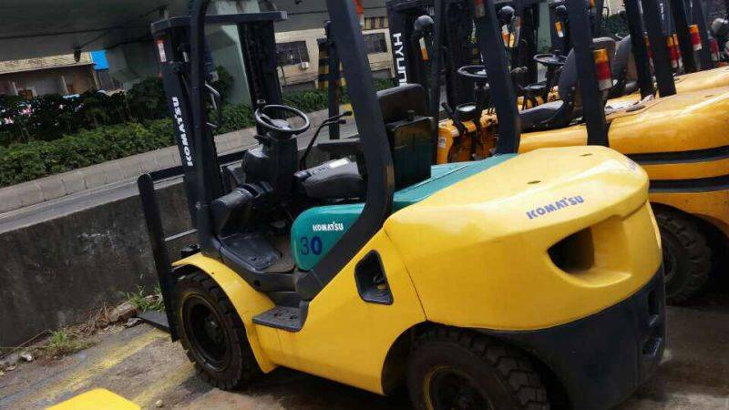 Used 3ton Komatsu Forklift In Low Price And High Quality