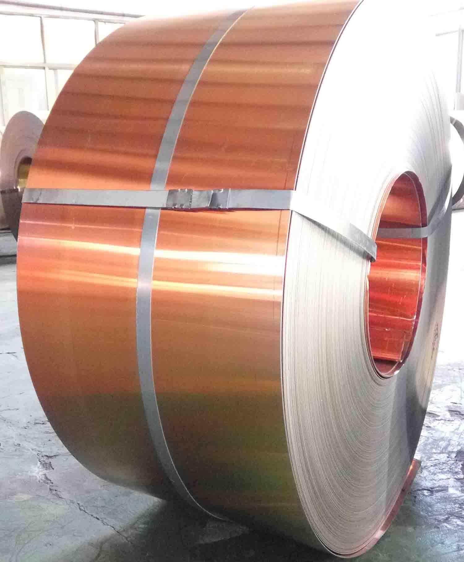 Copper Steel Bimetal Strip