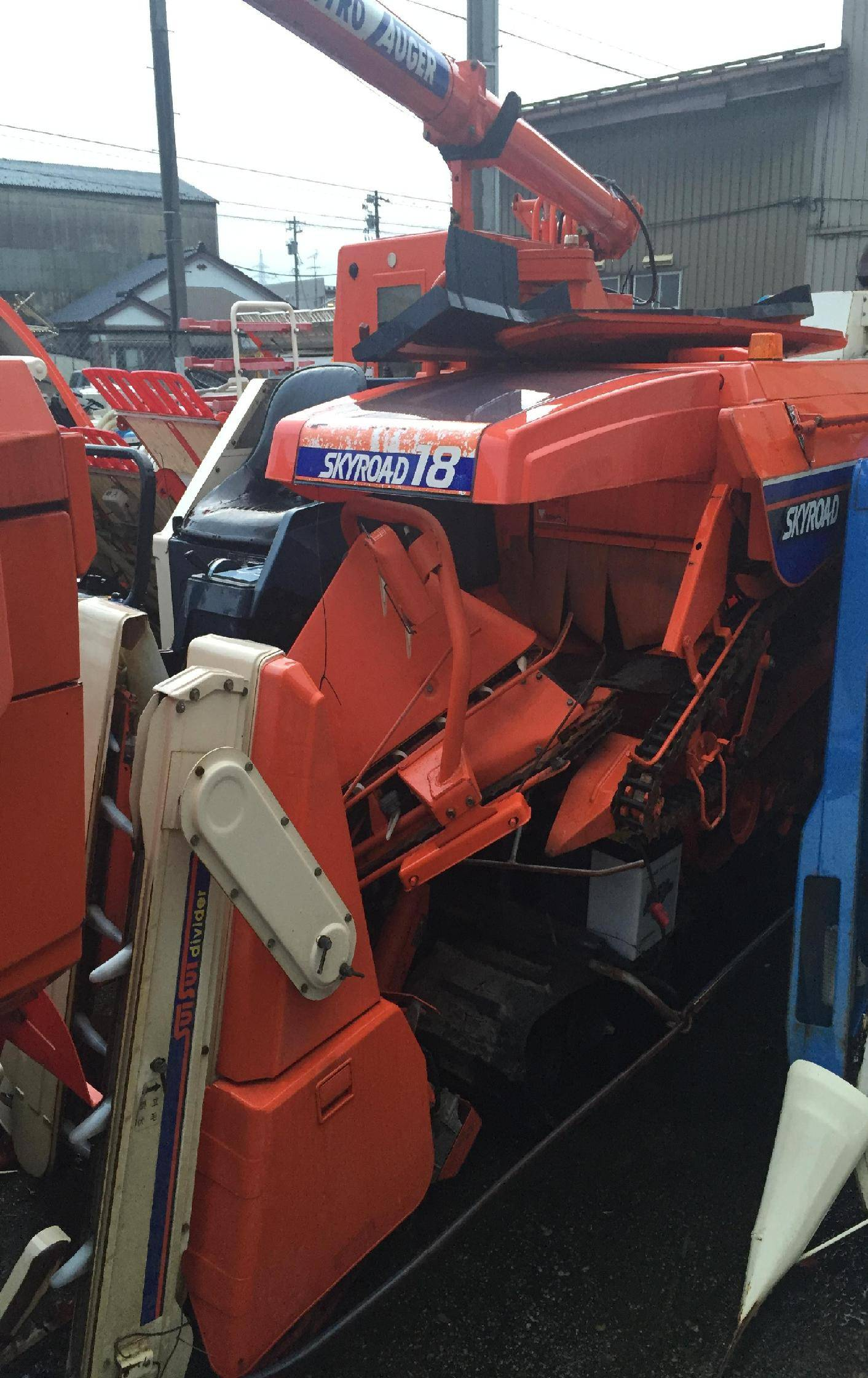 Used combine harvester Kubota R1-18G Unit 1