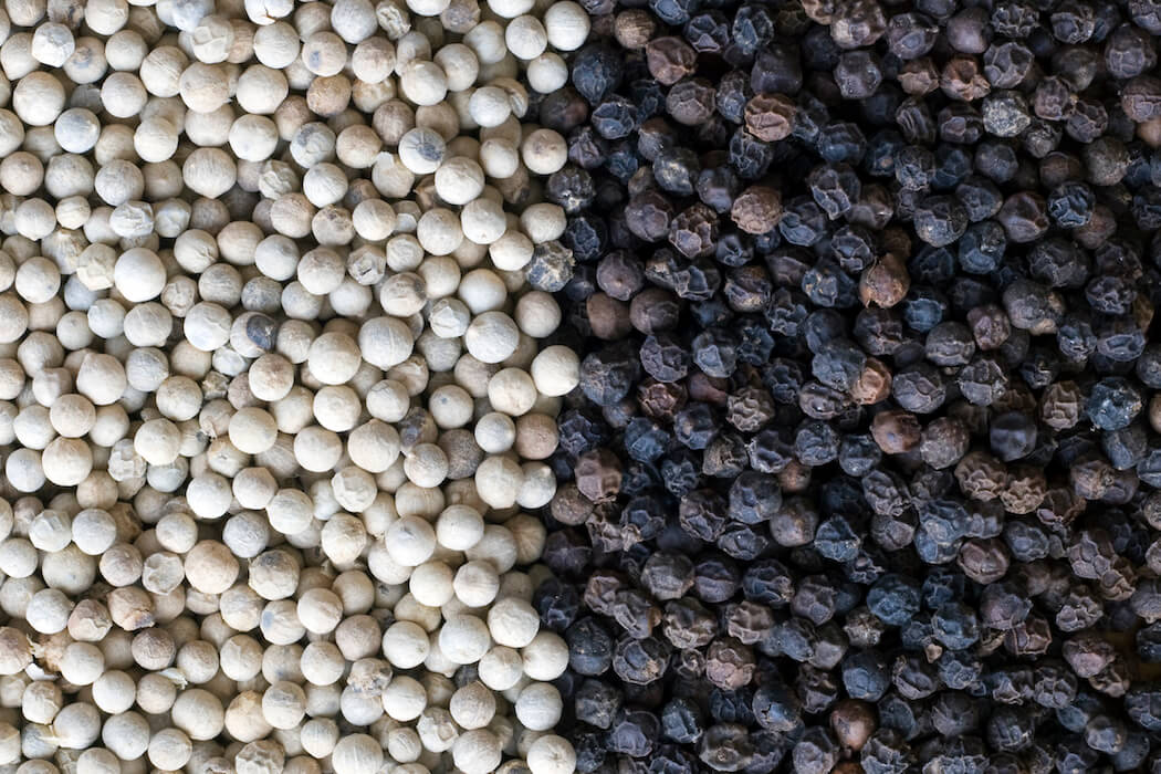 Black and White Pepper for Sale