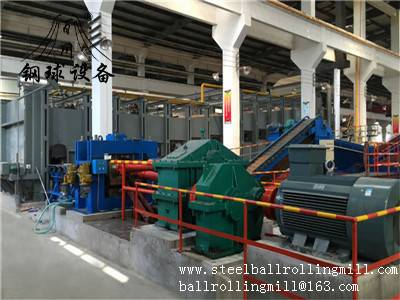 Hot Rolled Steel Ball Making Machine