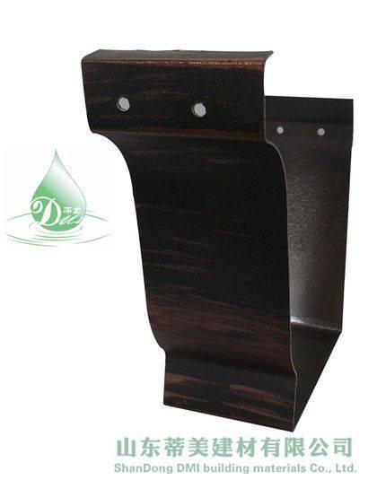 Alu Metal Rainwater Gutter & All Kinds of Fitting For Resort, View Alu Metal Rainwater Gutter