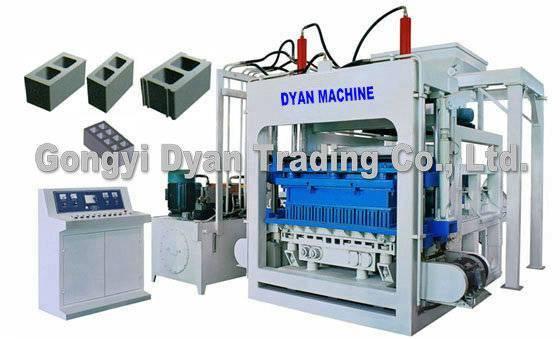 Hollow Block Machine QT10-15