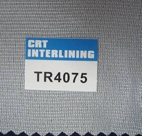 woven fusible tricot knit interlining-TR4075(interfacing)
