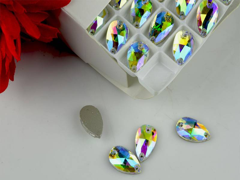 Sew on crystal rhinestone, decorating crystal fancy stones,rhinestone beads