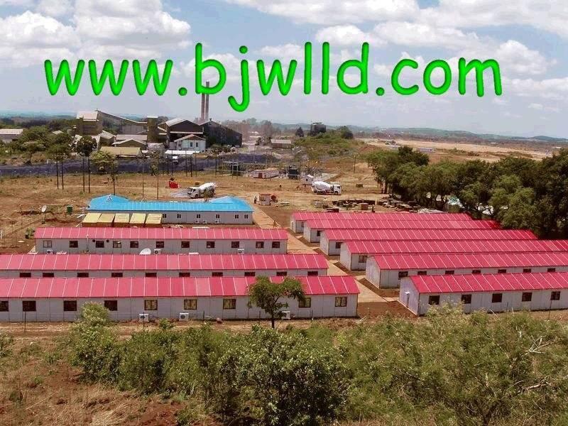 Prefab Modular House MA Type Construction Camp