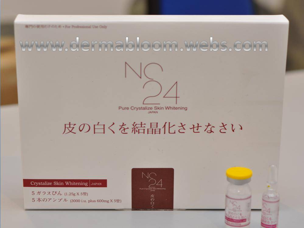 NC 24 PURE CRYSTALIZE WHITENING CREAM
