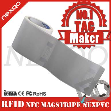 Paper/plastic RFID windshield tag for access control
