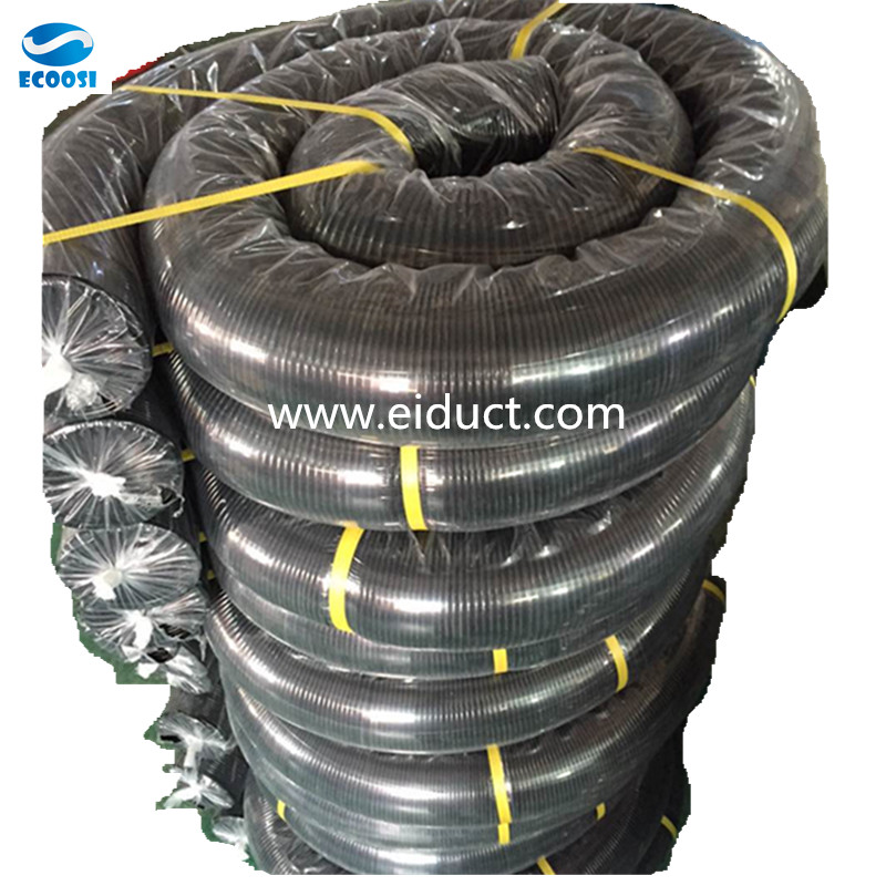 Thermoplastic Rubber Air Duct Hose With plastic Bag