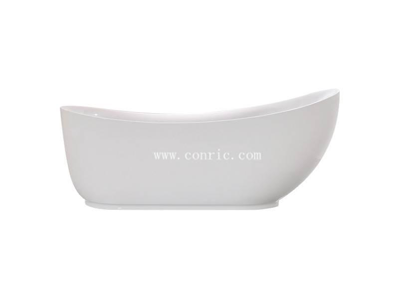 China Unique design white acrylic bathtub