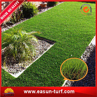 Decorative artificial lawn grass with SGS certificate- ML