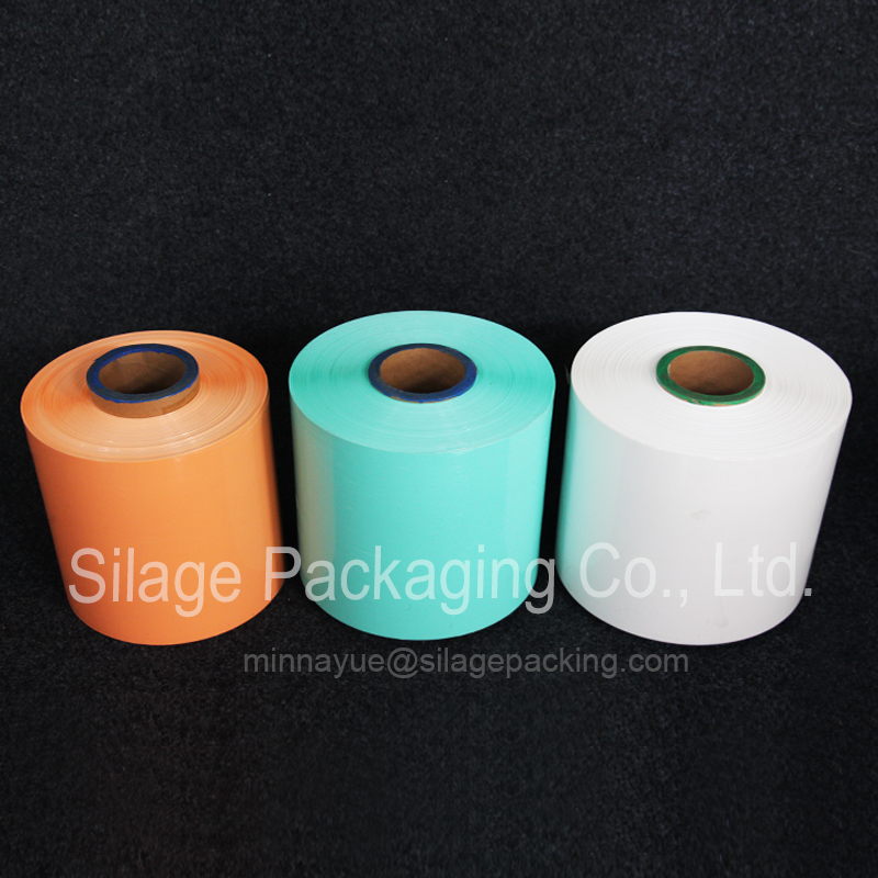 Colored Silage Film, 250mm25mic1800m, Agriculture Silage Wrap Film