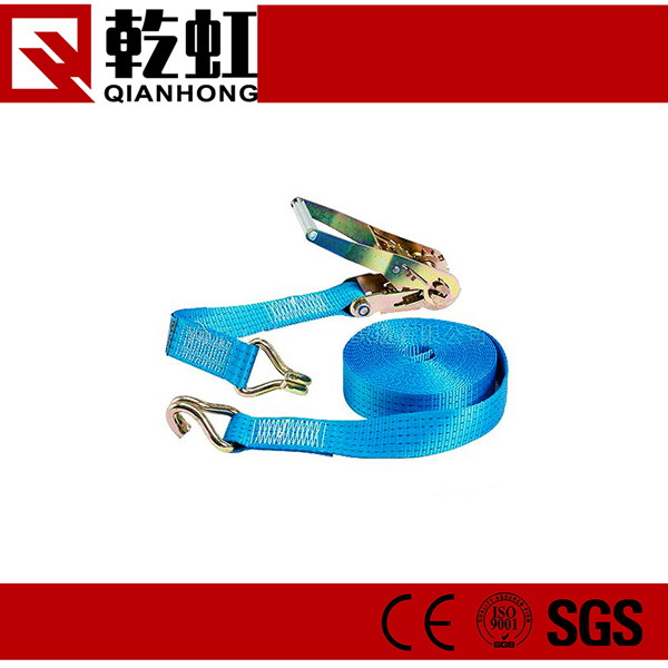 35mm 50mm Polyester Carogo lashing belt ratchet tie down