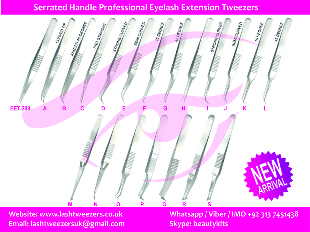 Eyelash Extension Tweezers