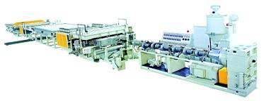Plastic Hollow Gid Plates Production Line