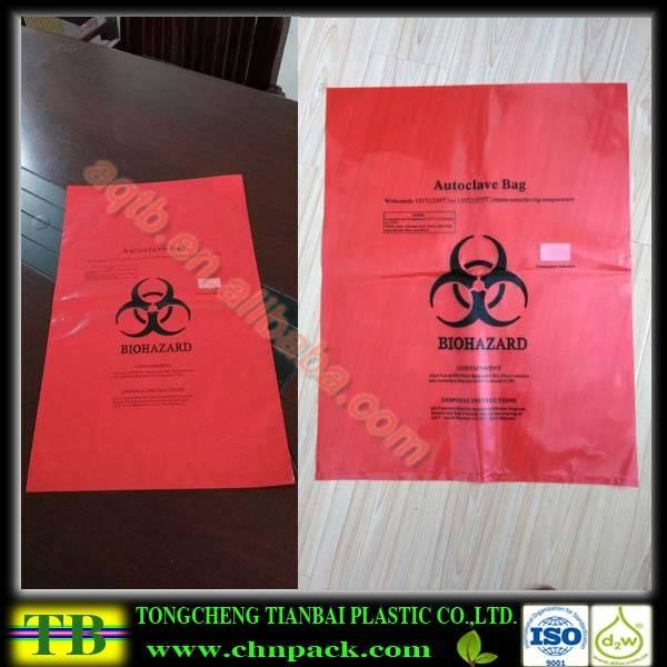 pp material autoclave sterilization bag