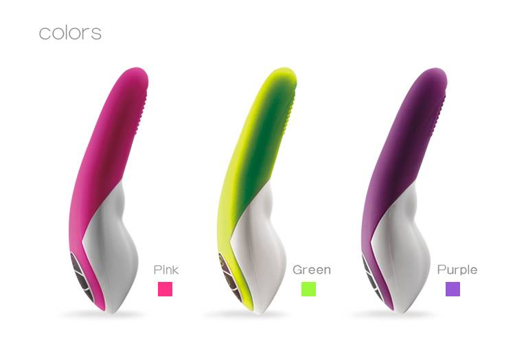Mini and smart G-spot vibrator for female with CE approved