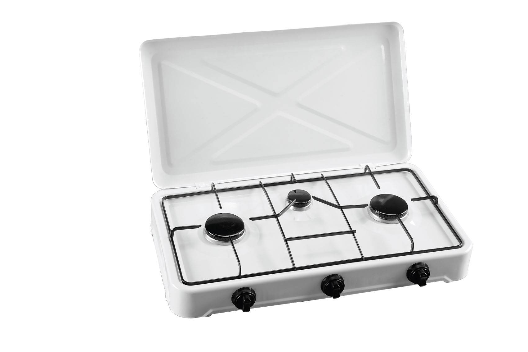 simple gas stove 3 burners