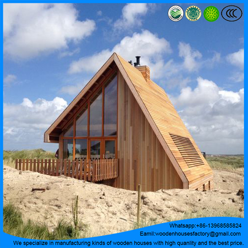 wholesale for outdoor prefab log cabin/tiny living house with the best price