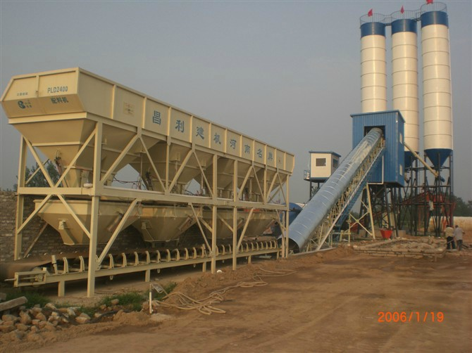 Highly Popular HZS90 Concrete Batching Plant
