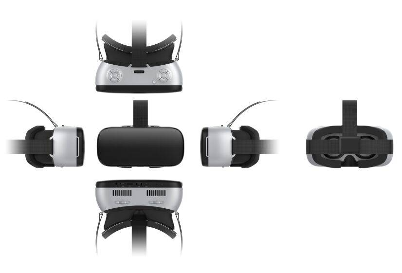 High-end virtual reality glasses 3d vr All in one VR