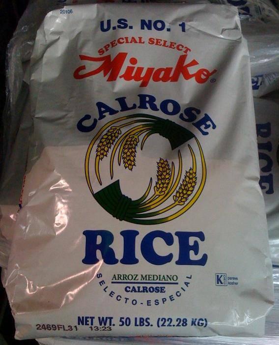 Calrose  Sushi Rice KORC