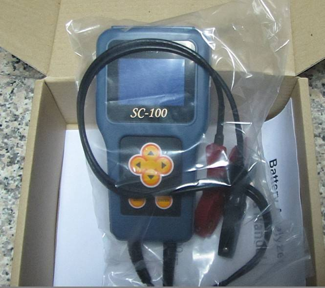 SC-100 digital battery anlyzer