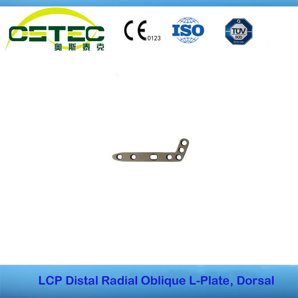 LCP Distal Radial Oblique L-Plate, Dorsal