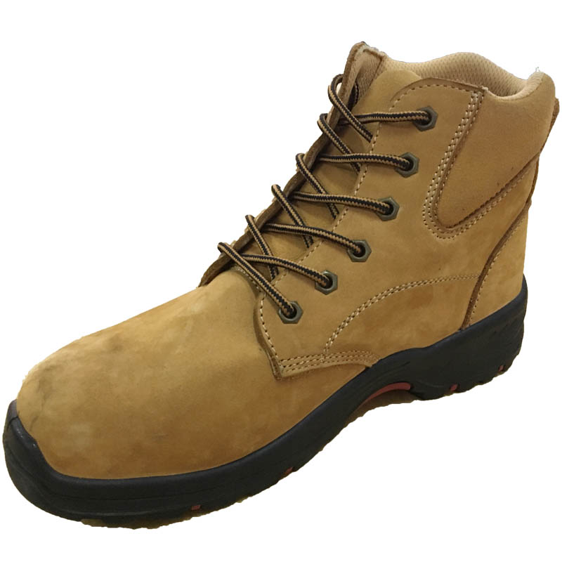 Safety Shoes Sbp Anti-Slip Genuine Leather Upper for Daily Using